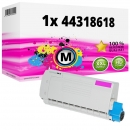 Alternativ OKI Toner 44318618 Magenta
