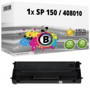 Alternativ Ricoh Toner Type SP 150 / 408010 Schwarz