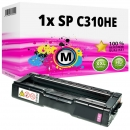 Alternativ Ricoh Toner 406481 / 407636 / SP C310HE Magenta
