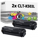 Alternativ Samsung Set 2x Toner CLT-K503L Schwarz