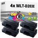 4x Alternativ Samsung Toner MLT-D203E Schwarz Set