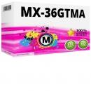 Alternativ Sharp Toner MX-36GTMA Magenta