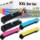 Set 5x Alternativ Utax Toner CLP 3635 Mehrfarbig