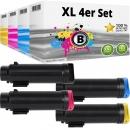 4x Alternativ Xerox Toner 106R03480 106R03491 106R03492 106R03492 Set