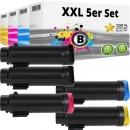 5x Alternativ Xerox Toner 106R03480 106R03491 106R03492 106R03492 Set