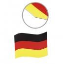 Fan Automagnet Deutschland 15x21 cm