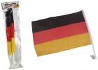 Autofahne Deutschlandflagge - 45 x 30 cm, 2 Stück
