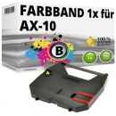 Alternativ Brother Farbband AX-10 Schwarz