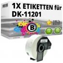 Alternativ Brother Adress-Etiketten DK-11201 Label
