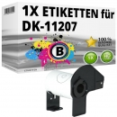 Alternativ Brother CD/DVD-Etiketten DK-11207 Label