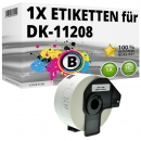 Alternativ Brother Adress-Etiketten DK-11208 Label