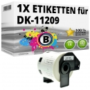 Alternativ Brother Adress-Etiketten DK-11209 Label