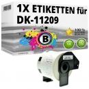 Alternativ Brother Adress-Etiketten DK-11209 Label