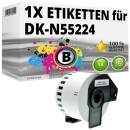 Alternativ Brother Endlos-Papierrolle DK-N55224 Tape