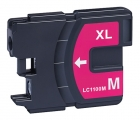 Alternativ Brother Patrone LC1100 Magenta