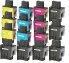 15 Brother kompatible LC-900 Druckerpatronen