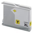 Alternativ Brother Patronen LC970 Yellow/Gelb