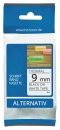 Alternativ Brother Schriftbandkassette M-K221 9mm