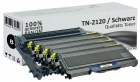 Set Alternativ Brother 4x Toner TN2120 + DR2100 Trommel