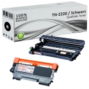 Set Alternativ Brother Toner TN2220 + DR2200 Trommel