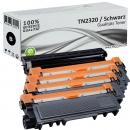 Set 4x Alternativ Brother Toner TN-2320 + DR-2300 Trommel