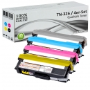 4x Alternativ Toner Brother TN-326 Set Mehrfarbig