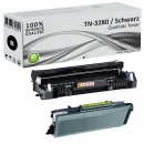 Set Alternativ Brother Toner TN3280 + DR3200 Trommel