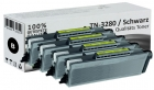Set 4x XL Alternativ Brother Toner TN-3280