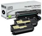 Alternativ Brother Toner TN-6600 Doppelpack + DR6000 Trommel