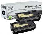 Alternativ Brother Toner TN-6600 TN-6300 Schwarz Doppelpack