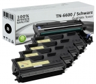 Alternativ Brother Toner TN-6600 4er Sparset + DR6000 Trommel