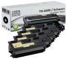 Alternativ Brother Toner TN-6600 4er Sparset + DR6000 Trommel
