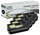 Alternativ Brother Toner TN-6600 TN-6300 Schwarz 4er Sparset