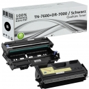 Alternativ Brother Toner TN-7600 + DR-7000 Trommel