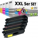 Alternativ Brother Toner TN-900 5er Set Mehrfarbig