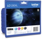 Original Brother Patronen LC-1280 4er Set Schwarz Cyan Magenta Gelb