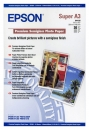 Epson Fotopapier DIN A3 - glänzend - 250g - 20 Blatt