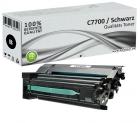 Alternativ Lexmark Toner C7700KH XL Schwarz