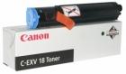 Original Canon Toner C EXV 18 Schwarz