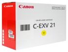 Original Canon Toner C EXV 21 Gelb