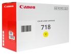 Original Canon Toner 718 Gelb