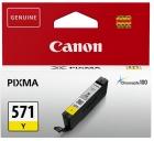 Original Canon Patronen CLI-571Y Gelb