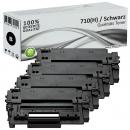 Set 4x Alternativ Canon Toner 710 710H Schwarz