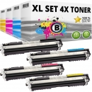 Set 4x Alternativ Toner Canon 729