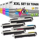 Set 5x Alternativ Toner Canon 729