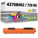 Alternativ Canon Toner 729 BK / 4370B002 Schwarz