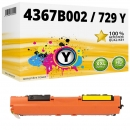 Alternativ Canon Toner 729 Y / 4367B002 Gelb