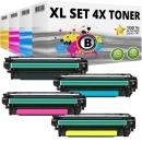 Set 4x Alternativ Toner Canon 732H+732