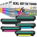 Set 5x Alternativ Toner Canon 732H+732