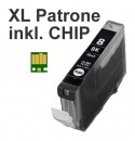 Alternativ Tintenpatrone CLI-8BK mit Chip fuer Canon